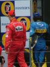 Schumacher and Alonso