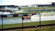 Michael Schumacher in the wet
