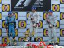 Drivers with Champagne